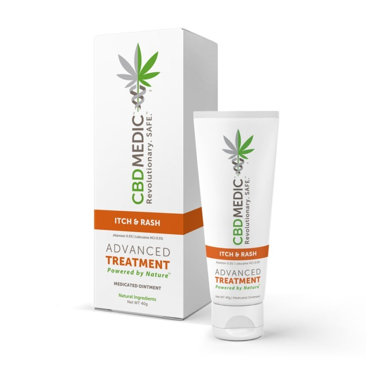 CBDMEDIC™ ITCH & RASH MEDICATED OINTMENT