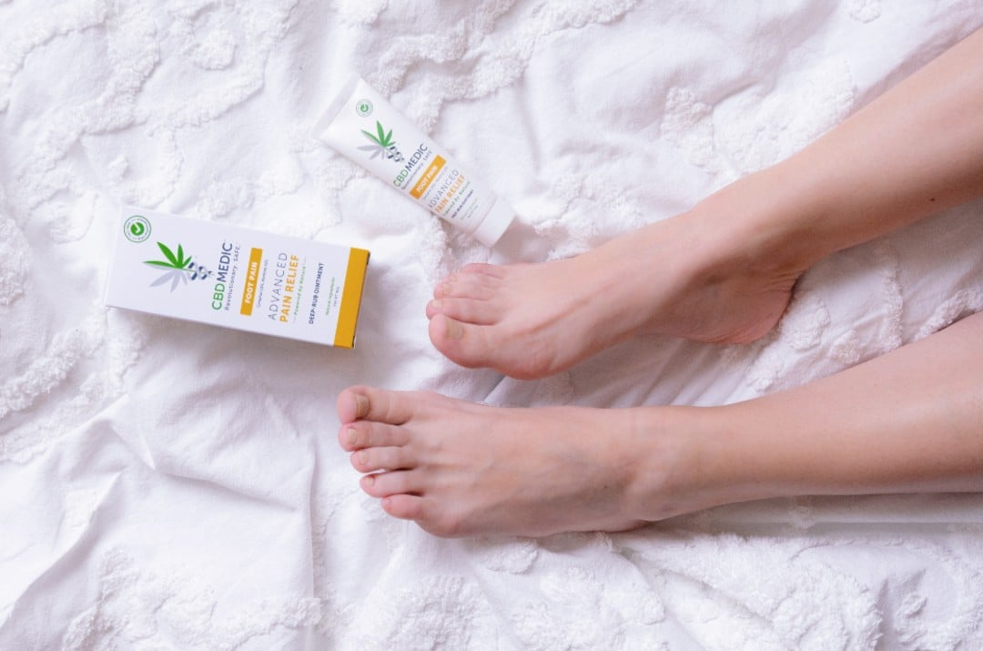 foot pain cream and feet